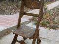 JILT-lemn de brad incizat cu motive populare.Dim.170x55x60cm